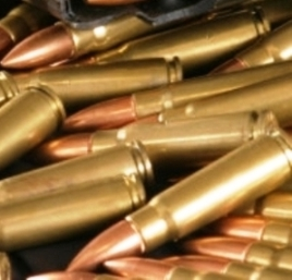 AK47 KALASHNIKOV 7.62/39 CALIBRE x12 INERT BULLETS BRASS - Relics Replica Weapons