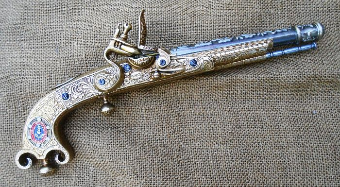 Scottish Ramshorn Pistol