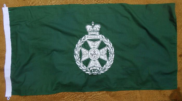 Royal Green Jacket 4ft Flag